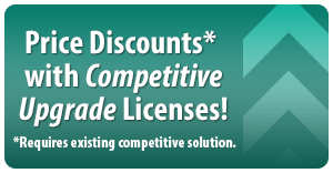 Price discounts with Competitive Upgrade Licenses!